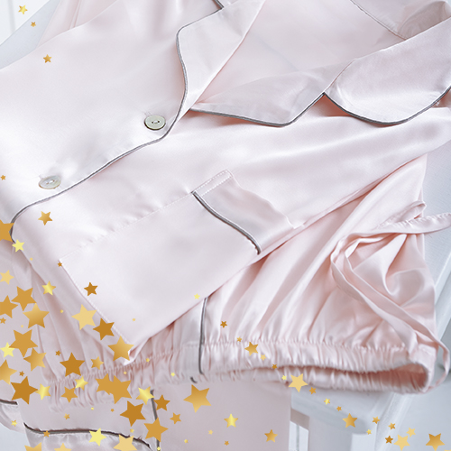 Luxury Silk Women Pyjamas