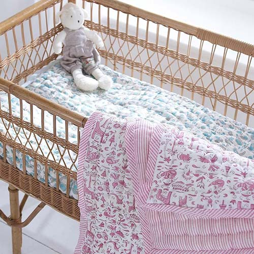Pure Cotton Nursery Bedspread