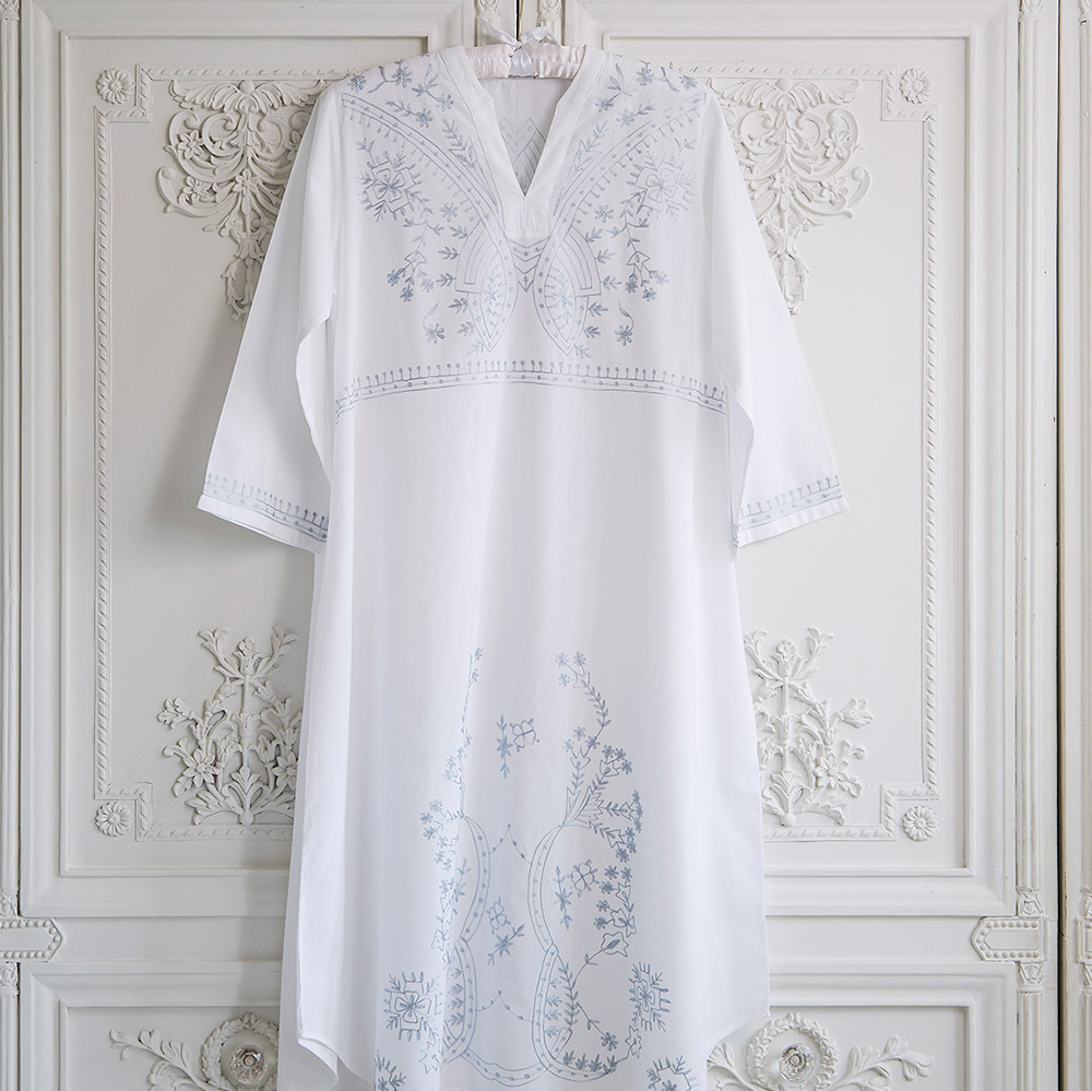 Anna Pure Cotton Nightdress