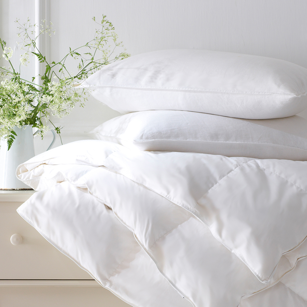 Pure Cotton Duvets And Pillows