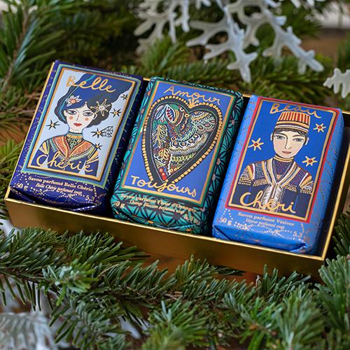 Fragonard Christmas Edition Soaps