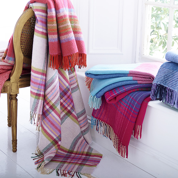 Merino & Cashmere Throws