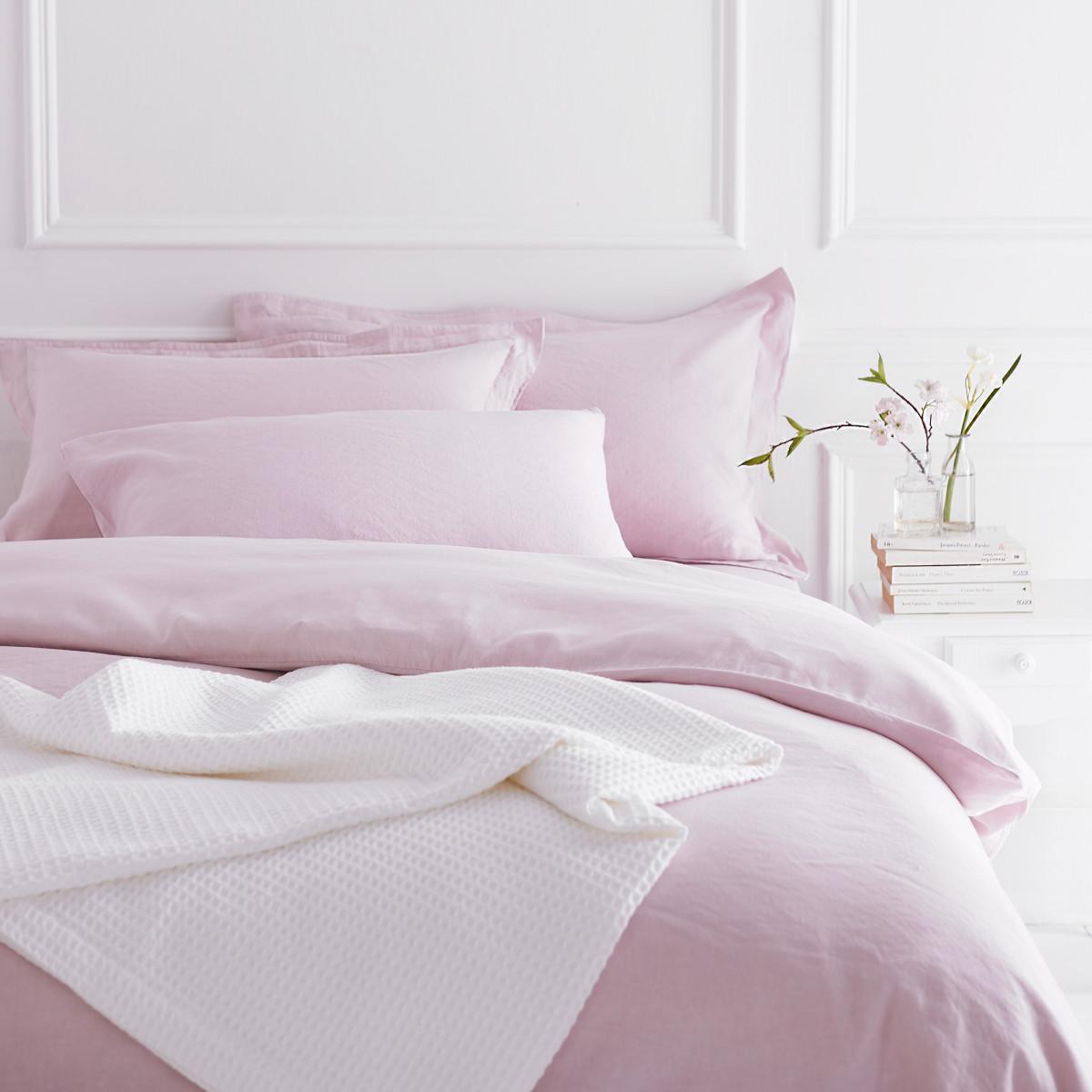 Pale Pink Galway Bedlinen