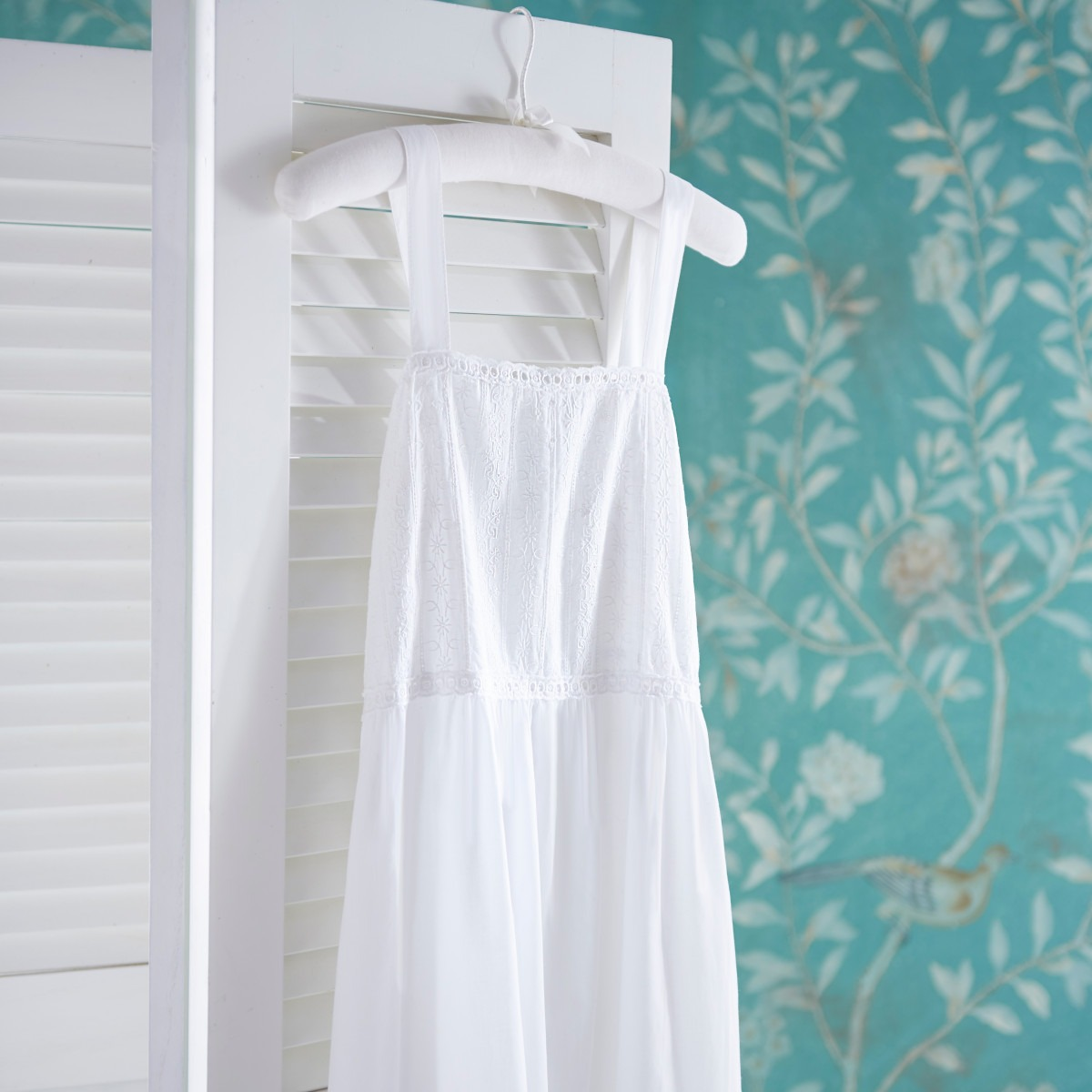 White Cotton Nightdress