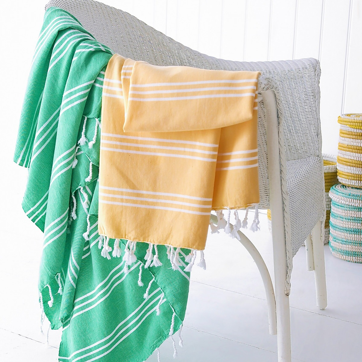 Pure Cotton Turkish Hamam Towels