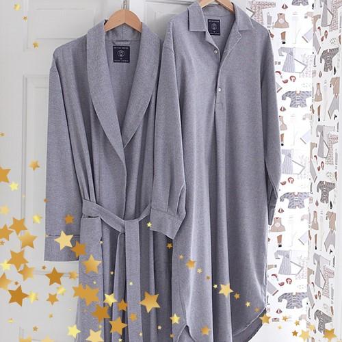 Brushed Cotton Men Nightwear