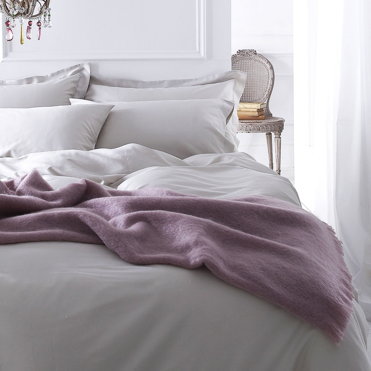 Portland Grey Cotton Bedlinen