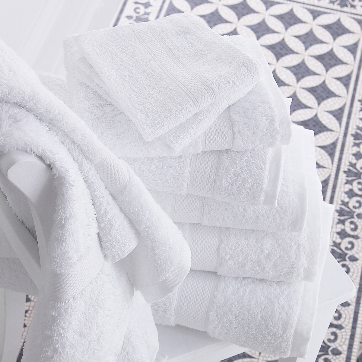 White Luxury Towels